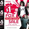 Fox Factory Outlet Sale April 09