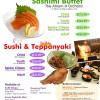 Sashimi Buffet at Sakae Sushi