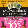 Skinfood Free Mask Sheet & Nail Vita Promotion