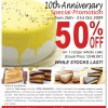 Secret Recipe 10th Anniversary Promotion
