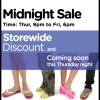 Crocs Mysterious Midnight Sale | Nov 2009