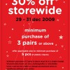 Crocs 30% Storewide Discount | Dec 2009