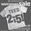 Giordano Warehouse Sale | Dec 2009