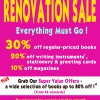 MPH Raffles City Renovation Sale