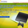 One Motoring Playstation 3 Giveaway Survey Contest