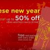 Crocs Online Chinese New Year Promotion