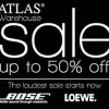 Atlas Warehouse Sale