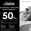 Tempur Clearance Sale – 3 Days Only!