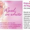 Revel in White – Whitening Beauty Fair @ BHG