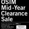 OSIM Mid-Year Clearance Sale