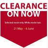 Howards Storage World Clearance