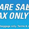 Jetstar $0 Base Fare Sale