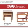 Scanteak Sale at Isetan Shaw
