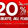 "Air Asia ""All Seats, All Flights"" Sale"