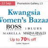 Marella, Hugo Boss and more at Kwangsia Women's Bazaar