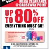 John Little Moving Out Sale at Causeway Point