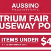 AUSSINO Atrium Fair at Causeway Point