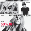 Warehouse, Karen Millen, Ben Sherman Mid-Season Sale