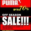 PUMA End-of-Season Sale