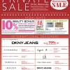 Isetan grand anniversary exclusive private sale
