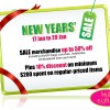 Rose Citron New Years' Sale