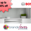 Bosch Home Appliances Sale @ Brandsfever