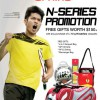 Li Ning N-series Badminton Racket Promotion