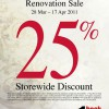 Harris@313 Renovation Sale