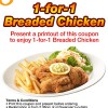 Swensens Breaded Chicken Promo
