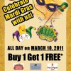 Chilli's Celebrates Mardi Gras!