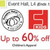Pumpkin Patch and Fox Kids Sale at Isetan Scotts