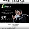 LEAGUE Warehouse Sale