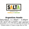 SALTA Argentine Asado All-You-Can-Eat Saturday