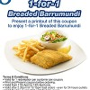 Swensens 1-for-1 Breaded Barramundi