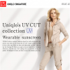 UNIQLO UV Cut Collection