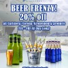 Cafe Del Mar Beer Frenzy