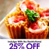 25% Off Weekend Lunch @ The Blue Ginger Restaurant