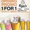 1 For 1 Draft Beer @ LENAS Raffles City Opening Promo