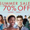 ASOS Summer Sale Up to 70% Off