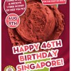 Get a FREE Scoop of Red Velvet at Marble Slab Creamery!