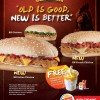 Burger King New BK Chicken Burger Promo