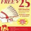 Carrefour Free $25 Voucher Giveaway