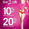 "La Senza ""Shop Till You Drop"" Limited Time Offers"