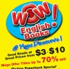 WOW! English Books Mega Sale Up to 70% Discount  At Popular Jurong Point