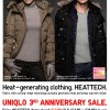 UNIQLO 3rd Anniversary Weekly Offers