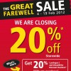 Harris Great World City Farewell Sale