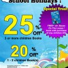 MPH Bookstores School Holidays Specials