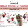 Starbucks BOGO Frappucino Summer Celebration