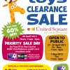 TOYS 'R' Us Clearance Sale