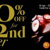 Seoul Garden 50% Off Second Diner